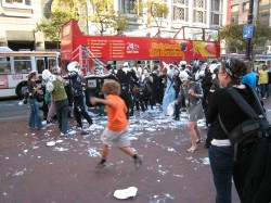 San Francisco Pie Fight