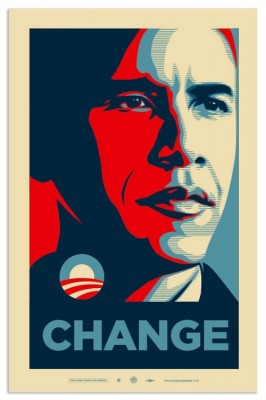 Barack Obama Shepard Fairey Poster