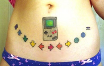 Bad Game boy tattoo