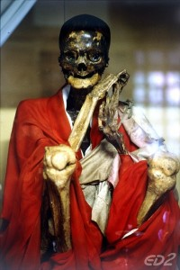 mummified buddhist monk