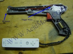 nintendo nes light zapper wii gun