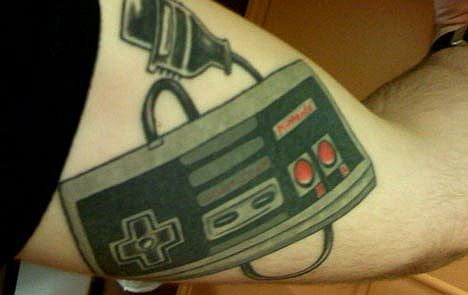Nintendo Tattoos. Filed Under Art, Body Modification, Video Games on