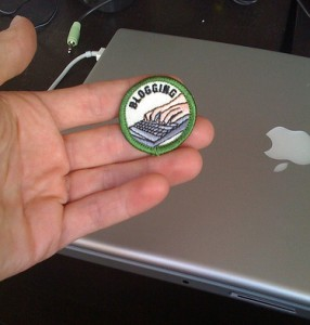 Blogging Merit Badge