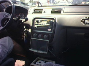 Carputer in Honda CRV