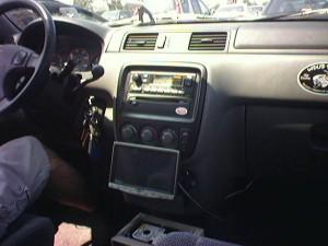 Carputer in Honda CRV