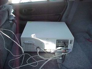 Old Packard Bel Carputer