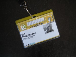 My SXSW 2009 Badge