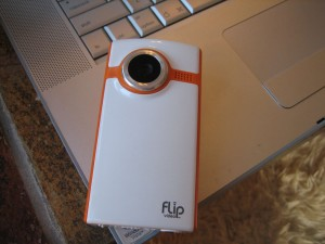 Flip Video Ultra Camera with Macbook Pro