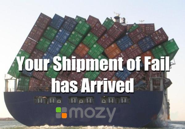 Mozy Failboat