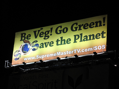 Be Veg! Go Green! Save the Planet