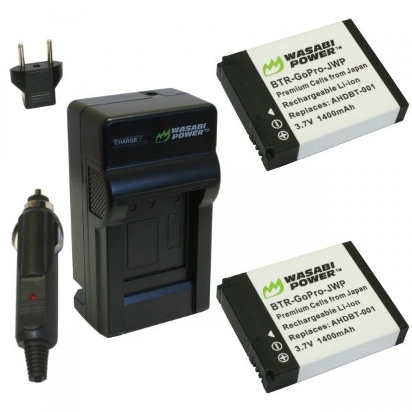 Wasabi Power Battery and Charger